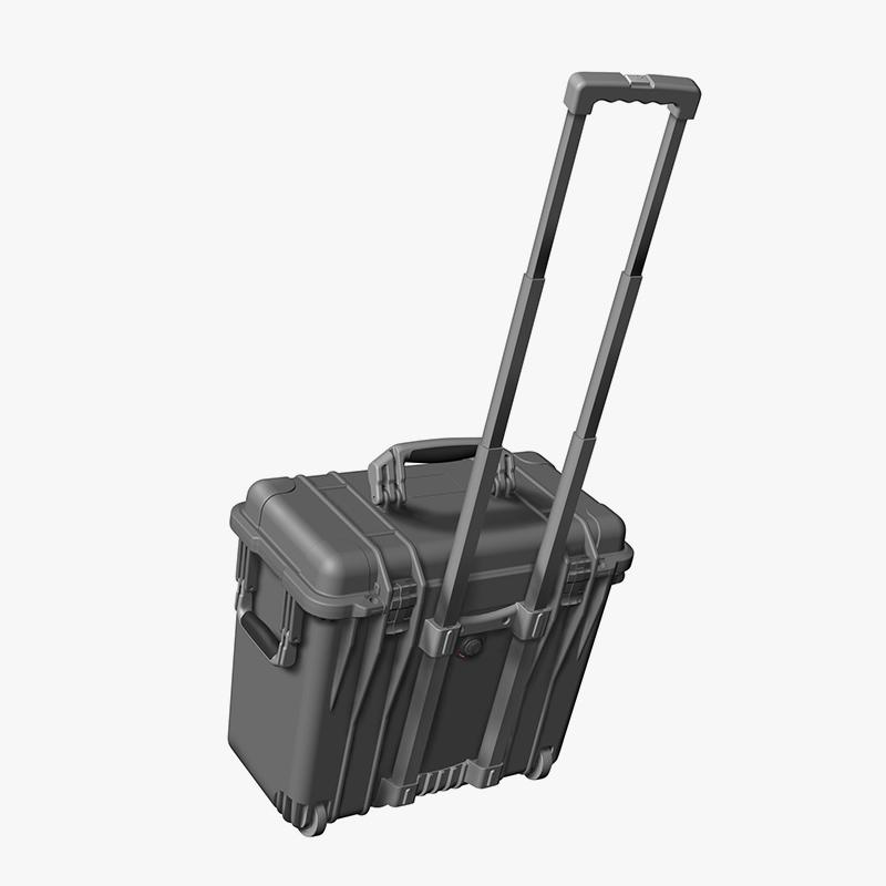 1440 top loader case met trolleycase